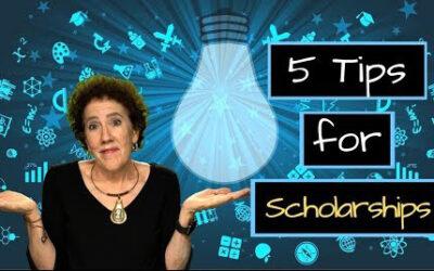 5 Tips for Applying for Scholarships