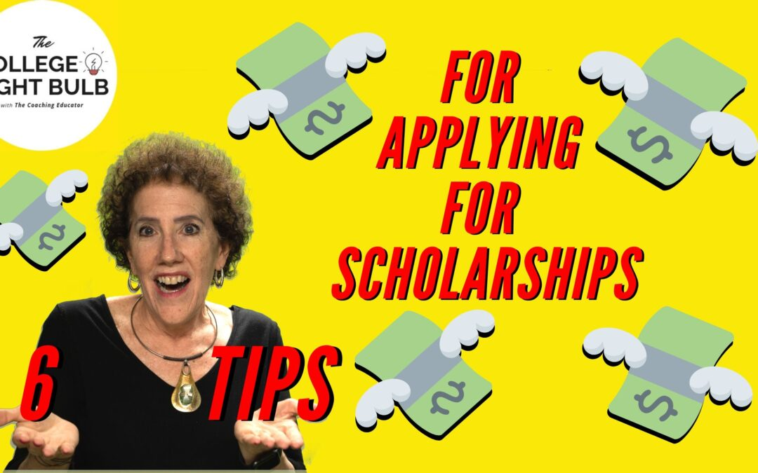 Six Tips for Applying for Scholarships